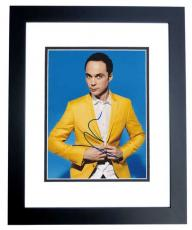 Jim Parsons Signed - Autographed The Big Bang Theory 8x10 inch Photo BLACK CUSTOM FRAME - Guaranteed to pass PSA or JSA