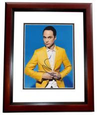 Jim Parsons Signed - Autographed The Big Bang Theory 8x10 inch Photo MAHOGANY CUSTOM FRAME - Guaranteed to pass PSA or JSA