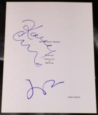 "Jim Parsons & Kaley Cuoco Signed Autograph ""big Bang Theory"" Full Pilot Script"