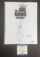 Jim Parsons Signed Auto The Big Bang Theory Full Pilot Script Bas Coa Beckett 1