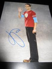 JIM PARSONS SIGNED AUTOGRAPH 8x10 PHOTO BIG BANG THEORY PROMO IN PERSON COA NY D