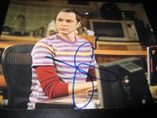 JIM PARSONS SIGNED AUTOGRAPH 8x10 PHOTO BIG BANG THEORY PROMO IN PERSON COA NY K