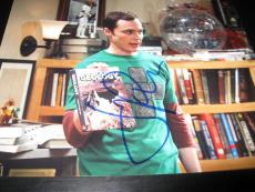 JIM PARSONS SIGNED AUTOGRAPH 8x10 PHOTO BIG BANG THEORY PROMO IN PERSON COA NY M