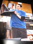 JIM PARSONS SIGNED AUTOGRAPH 8x10 PHOTO BIG BANG THEORY PROMO IN PERSON COA NY O
