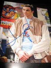 JIM PARSONS SIGNED AUTOGRAPH 8x10 PHOTO BIG BANG THEORY PROMO IN PERSON COA NY P
