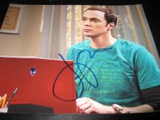 JIM PARSONS SIGNED AUTOGRAPH 8x10 PHOTO BIG BANG THEORY PROMO IN PERSON COA X7