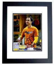 Jim Parsons Signed - Autographed The Big Bang Theory 8x10 inch Photo as Sheldon Cooper - BLACK CUSTOM FRAME - Guaranteed to pass PSA or JSA