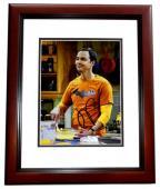Jim Parsons Signed - Autographed The Big Bang Theory 8x10 inch Photo as Sheldon Cooper - MAHOGANY CUSTOM FRAME - Guaranteed to pass PSA or JSA