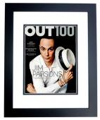 Jim Parsons Signed - Autographed The Big Bang Theory - Sheldon Cooper 11x14 inch Photo BLACK CUSTOM FRAME - Guaranteed to pass PSA or JSA