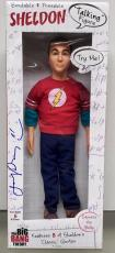 JIM PARSONS signed BIG BANG THEORY SHELDON COOPER 17 INCH TALKING FIGURE DOLL