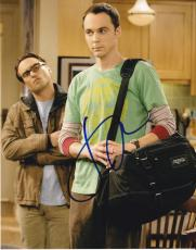 Jim Parsons signed The Big Bang Theory 8x10 photo W/Coa Sheldon Cooper #4