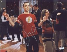 Jim Parsons The Big Bang Theory Signed 11X14 Photo PSA/DNA #Y84045