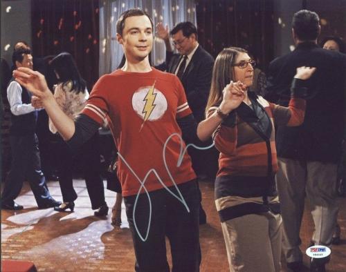 Jim Parsons The Big Bang Theory Signed 11X14 Photo PSA/DNA #Y84045