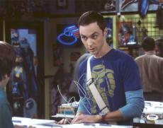 Jim Parsons The Big Bang Theory Signed 11X14 Photo PSA/DNA #Y84046