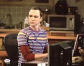 Jim Parsons The Big Bang Theory Signed 11X14 Photo PSA/DNA #Z90311