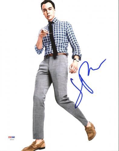 Jim Parsons The Big Bang Theory Signed 11X14 Photo PSA/DNA #Z90315