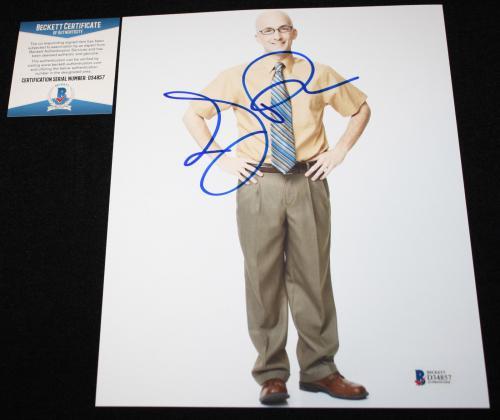 Jim Rash signed 8 x 10, Community, Dean Craig, The Descendants, Beckett BAS