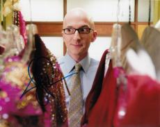 Jim Rash signed Community 8x10 photo Dean Pelton w/coa Vice Cobra #1