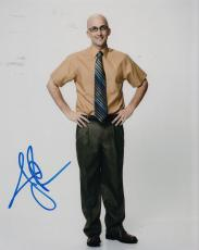 Jim Rash signed Community 8x10 photo Dean Pelton w/coa Vice Cobra #3