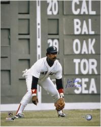"Jim Rice Boston Red Sox Autographed 16"" x 20"" Photograph with 78 AL MVP Inscription"