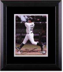 Jim Thome Chicago White Sox Deluxe Framed Autographed 8x10 Photograph - Mounted Memories