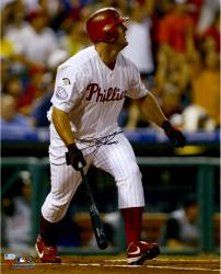 Jim Thome Philadelphia Phillies Autographed 16'' x 20'' 400th Home Run Photograph