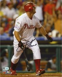 Jim Thome Philadelphia Phillies Autographed 8'' x 10'' 400th Home Run Photograph