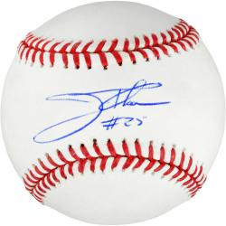 Jim Thome Cleveland Indians Autographed Baseball - Mounted Memories