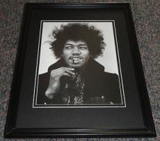Jimi Hendrix Framed 11x14 Photo Display