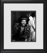 "Jimi Hendrix Framed 8"" x 10"" in Hat Photograph"