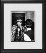 "Jimi Hendrix Framed 8"" x 10"" Sitting Backstage Drinking Photograph"