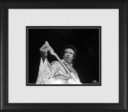 "Jimi Hendrix Framed 8"" x 10"" Tuning Guitar Photograph"