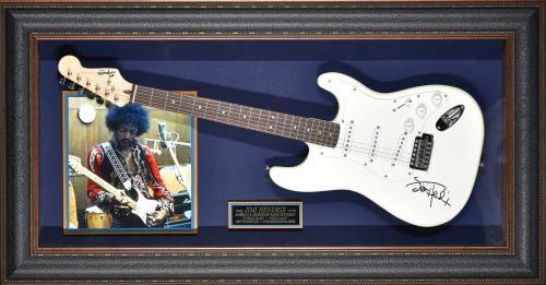 Jimi Hendrix – Guitar Framed