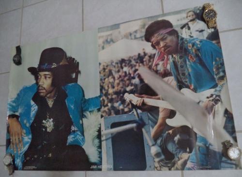 Jimi Hendrix Music Legend 1979 Scorpio Posters 23x35 Original Poster Authentic