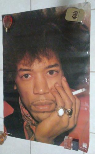 Jimi Hendrix Music Legend Original 24x33 Poster Rare