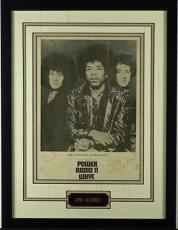 Jimi Hendrix Noel Redding Signed Autographed Experience Poster PSA/DNA