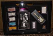 JIMI HENDRIX signed autographed display guitar WOODSTOCK TICKET 1969 RARE PSA