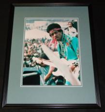 Jimi Hendrix Woodstock Framed 11x14 Photo Poster