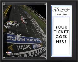 "Jimmie Johnson 2012 Sprint All-Star Race Sublimated 12"" x 15""""I Was There"" Photo Plaque - Mounted Memories"