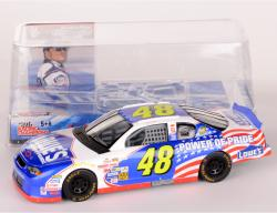 Jimmie Johnson #48 Power of Pride Lowes NASCAR 1:24 Diecast Car