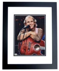 Jimmy Buffett Autographed Concert 8x10 Photo BLACK CUSTOM FRAME
