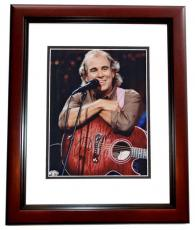 Jimmy Buffett Autographed Concert 8x10 Photo MAHOGANY CUSTOM FRAME