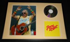 Jimmy Buffett Framed 12x18 CD & Photo Display