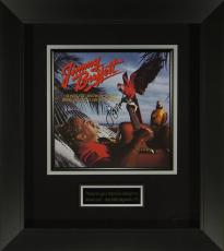 Jimmy Buffett Signed Album Flat Framed Display