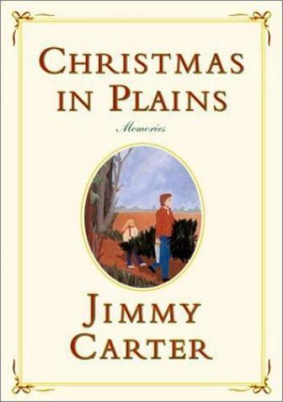 Jimmy Carter 2001 Christmas in Plains Memories Harcover Book