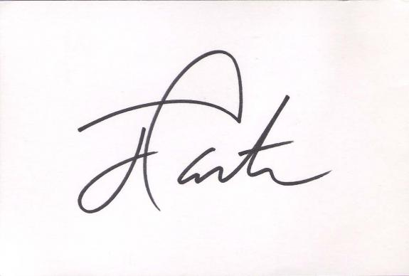 JIMMY CARTER (2002 NOBEL PEACE PRIZE RECIPIENT) 39TH PRESIDENT of the U.S.- Signed 6x4 Index Card