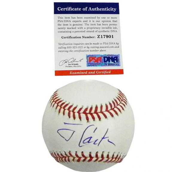 Jimmy Carter Former President Autographed Baseball & Exact Video Proof UACC RD A