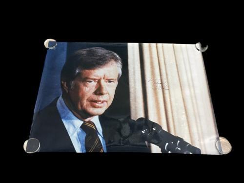 Autographed Jimmy Carter Photo - US President Nobel Prize Huge 40x30 PSA DNA