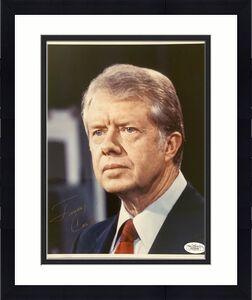 Jimmy Carter Signed Photo 8x10 Autograph President Democrat Georgia Governor JSA