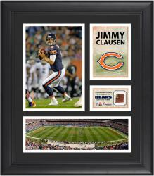 Jimmy Clausen Chicago Bears Framed 15'' x 17'' Collage with Game-Used Football